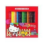KT 盒裝24色木頭色筆-紅