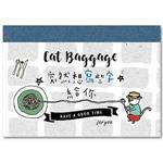 貓行李--寫寫字萬用卡(麵粉思念)
