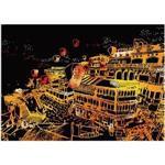 旅行時光-台灣之美32K刮畫(九份之美)