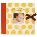 簡單生活--新生兒相本禮盒(圓點黃)
