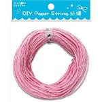 DIY紙繩30m-淺粉