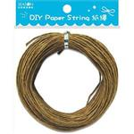 DIY紙繩30m-淺褐