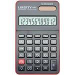 利百代12位元電子計算機-黑紅(LB-418)