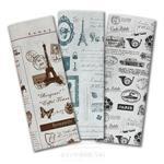 【三瑩】復古郵報包裝紙