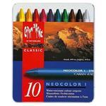 CARAN d`ACHE NEOCOLOR I 級油性蠟筆10色