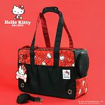 HELLO KITTY 雷樂士寵物包 時尚黑