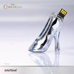 InfoThink x CINDERELLA玻璃鞋名片夾隨身碟 8GB