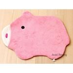 粉紅豬防滑絨毛腳踏墊小地毯