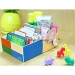 名片卡片桌上分類收納盒/款式隨機出