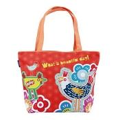 【COPLAY設計包】早安-公雞 橘 托特包