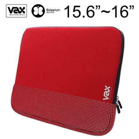 VAX 梵達納筆記型電腦防震包 16吋-紅色銀點