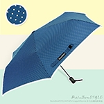 《RainBow》Shine水玉點點系列-自動式晴雨傘(深海藍)