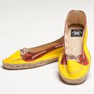 Bsided Kayak Yellow Ballet 仿真時尚設計印刷休閒鞋(女)