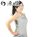 【源之氣】女竹炭條紋背心/白色 2入 RM-20105