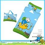 【探險活寶】阿寶與老皮幼教兒童睡袋-朋友篇藍(4X5尺)