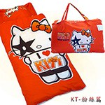 【凱蒂貓HELLO KITTY】我愛KT兒童睡袋-I ♥ KISS篇(4X5尺)
