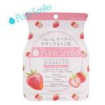 【Pure Smile】ESSENCE 優酪Vit E保濕面膜-草莓(1片23ml)