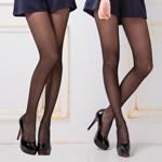 【美娜斯】腰下無痕全透明彈性絲襪-黑(3雙入)
