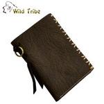 【Wild Tribe】象紋 真皮軟質中夾皮夾(MWT192-2)
