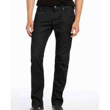 【A/X】阿瑪尼時尚水洗深靛藍低腰緊身牛仔褲