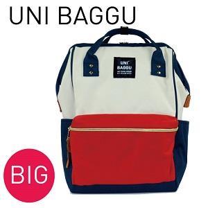 UNI BAGGU®尼龍大款後背包 森活態度 耐用材質 防潑水 魚口大開口設計後背包