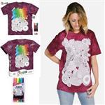 【摩達客】(預購)美國進口ColorWear 花兒盛開 DIY彩繪短袖T恤(附布料畫筆+衣型盒)