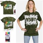 【摩達客】(預購)美國進口ColorWear 成長 DIY彩繪短袖T恤(附布料畫筆+衣型盒)