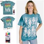 【摩達客】(預購)美國進口ColorWear 海馬 DIY彩繪短袖T恤(附布料畫筆+衣型盒)