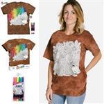 【摩達客】(預購)美國進口ColorWear 刺蝟 DIY彩繪短袖T恤(附布料畫筆+衣型盒)