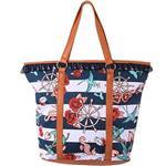 【摩達客】美國【Iron Fist鐵拳】海邊貝殼托特包側背包大包包