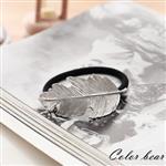 【卡樂熊】南方孤島金屬落葉髮束-銀色