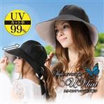 日本sunfamily 抗UV防風兩用寬緣帽