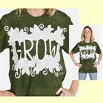 【摩達客】(預購) 美國進口ColorWear 成長 禪繞畫療癒藝術 環保短袖T恤