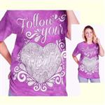 【摩達客】(預購) 美國進口ColorWear 隨心 禪繞畫療癒藝術 環保短袖T恤