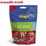 ~美國Crocodile Creek~隨身旅行拼圖^(賽車好手^)