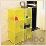 【ikloo】diy家具6格收納櫃/組合櫃