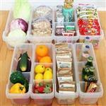 菜籃子【創新】冰箱&廚房收納盒(小) 2入