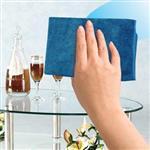 【JoyLife】台灣製超細纖專業無痕玻璃鏡面擦巾-超值5入