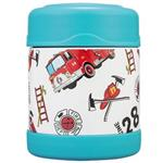 【THERMOS膳魔師】消防車不鏽鋼真空食物罐300ml(F3001HRB6)