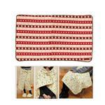 San-X 拉拉熊冬季之戀3 way保暖毛毯70x115cm。懶妹款