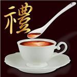 《生活大師》 晶瑩手工胚陶瓷咖啡杯組 (六件組)