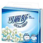 【可麗舒】柔韌抽取衛生紙100抽 (10包x4串/箱)
