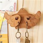 【幸福森林】甜蜜情侶 鑰匙圈/鑰匙架 (整組) - 飛翔的幸福