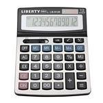 【LIBERTY】效率職人-桌上型12位數計算機-沉穩黑