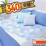 日本平川涼爽床墊-超值組 (買床墊送枕墊)