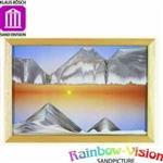 【Rainbow-Vision】水砂畫~螢幕~日落(XL)