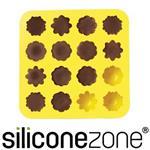 【Siliconezone】施理康耐熱小花造型巧克力模/冰模-黃色
