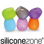 【Siliconezone】施理康drink-up耐熱矽膠隨身調酒暢飲杯-透綠色