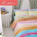 【Luna Vita】雙人 正60支頂級天絲 鋪棉兩用被床包四件組 - 夏之戀