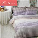 【Luna Vita】雙人 正60支頂級天絲 鋪棉兩用被床包四件組 - 舞音六律